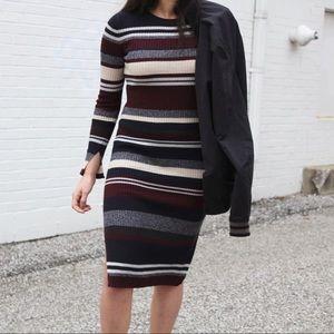 H&M Midi Sweater Dress